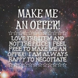 Other - Make me an offer  💜😁💲